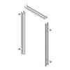 3-sided frame single rabbet