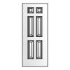 6 panel narrow