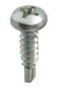 Flat astragal screw