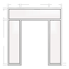 Elevation drawing template